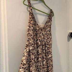 Light silk summer dress